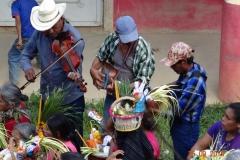Costumbre del elote en Ayotuxtla.
